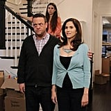 Clara Mamet, Lenny Venito, and Jami Gertz on The Neighbors. Photo copyright 2012 ABC, Inc.