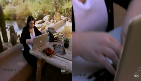 Stephenie Meyer Geeks Out With Her Mac on Oprah