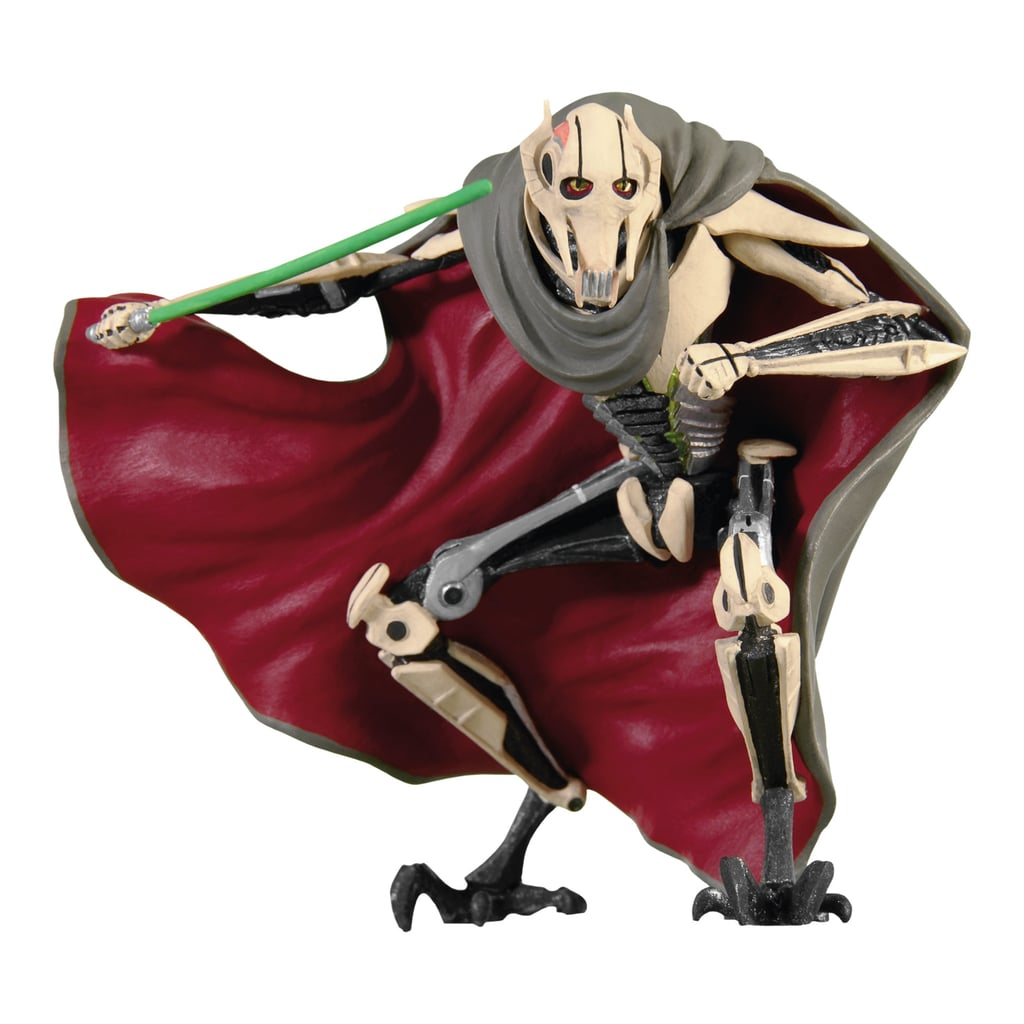 General Grievous from Star Wars Episode III: Revenge of the Sith ($18).