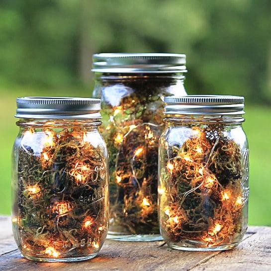 How To Decorate Mason Jars Adorable Mason Jar Halloween DIY Projects POPSUGAR Home