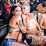 Halsey and Bella Hadid at the 2019 MTV VMAs