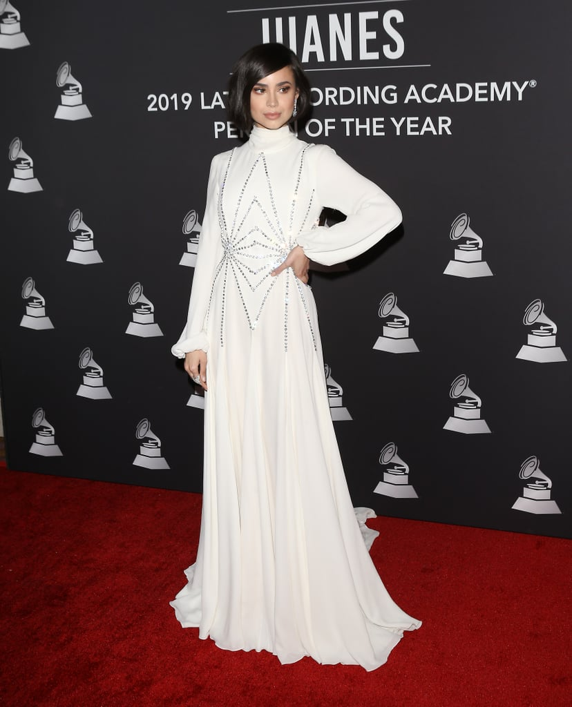 Sofia Carson at the Latin Recording Academy's 2019 Person of the Year Gala