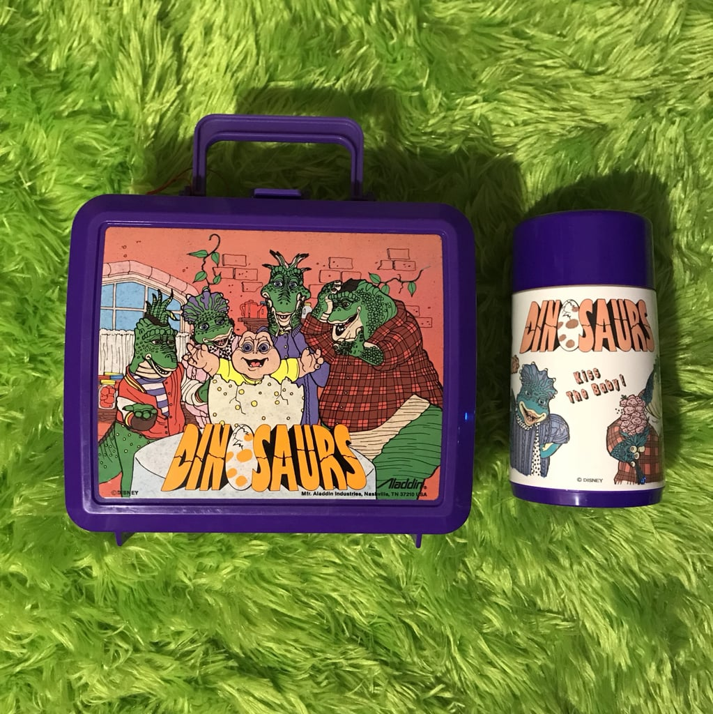 All in Your Plastic Lunch Box With Matching Thermos