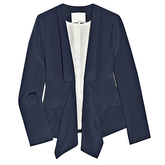 3.1 Phillip Lim Draped Silk Crepe Blazer, $695