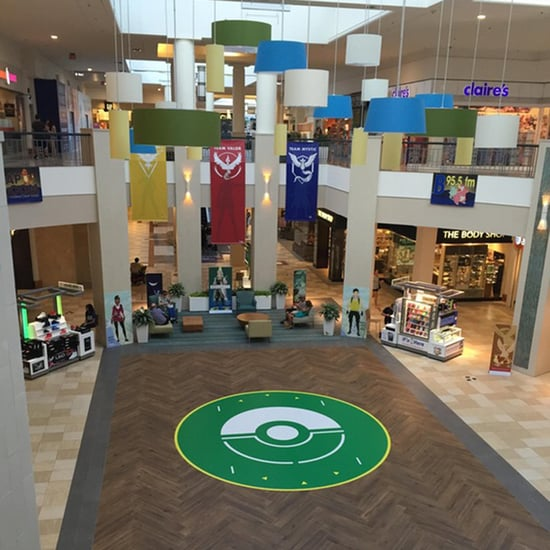 Mall Builds Pokemon Go Arena