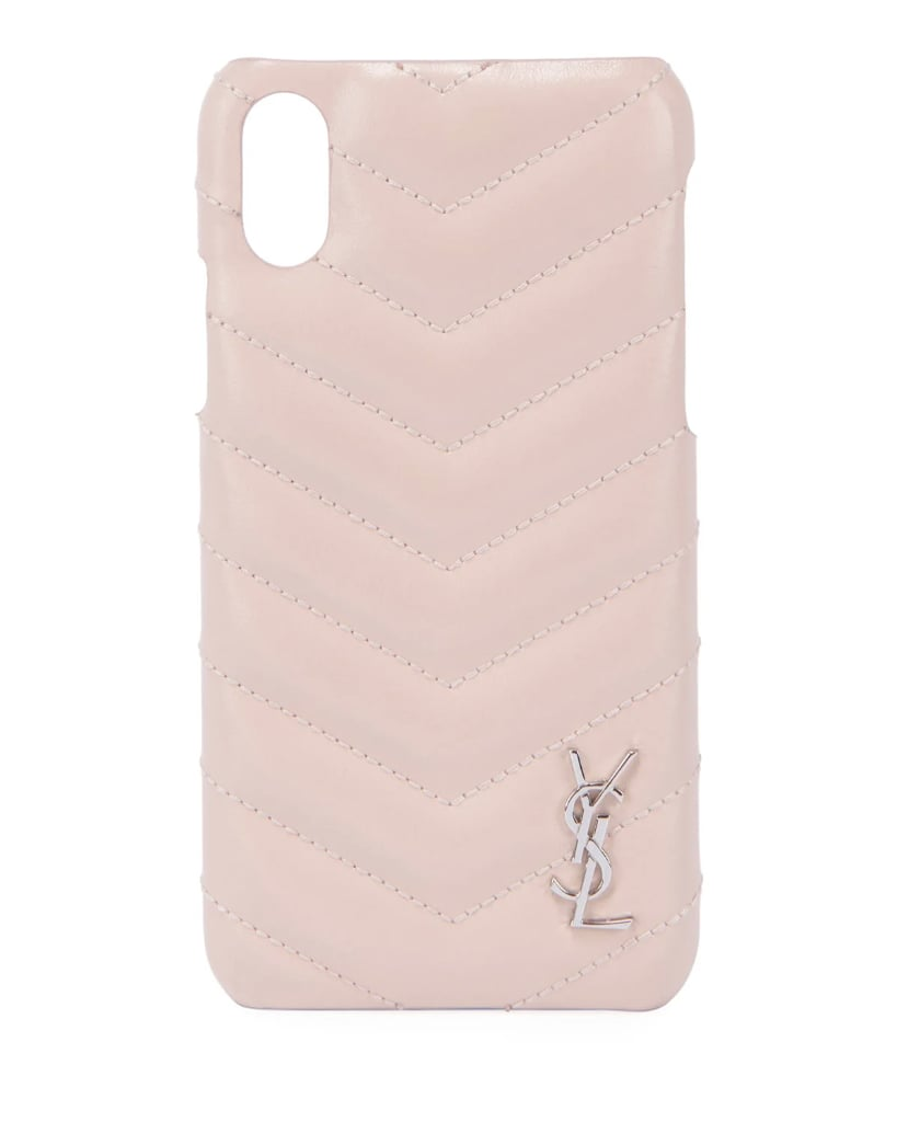 Saint Laurent Monogram iPhone Phone Case
