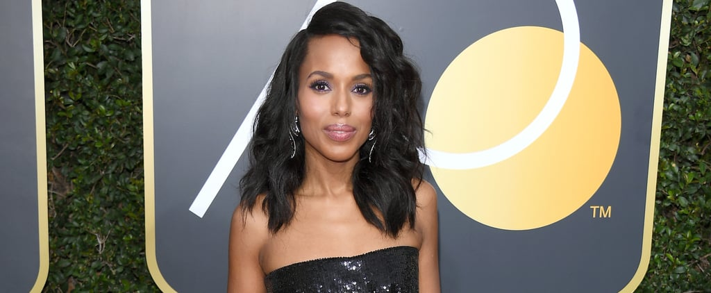 You'll Love Kerry Washington's Shimmery Dress — but Wait Until You See Her Shoes!