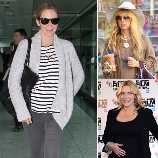 The Best Celebrity Maternity Looks | InStyle.com