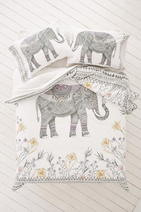 Elephant Duvet Cover ($129)