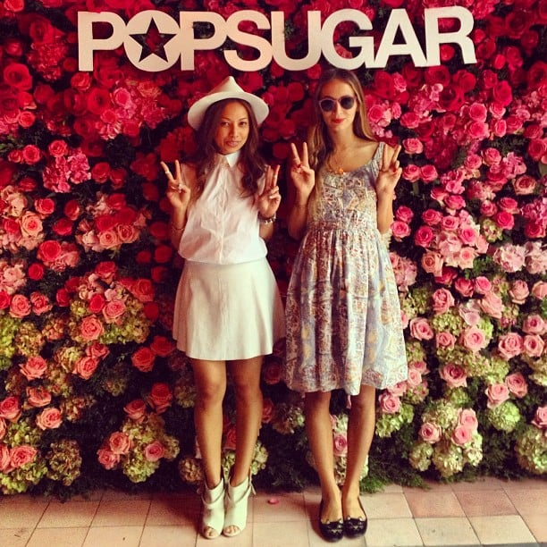 "With July on the horizon, our days and nights have been heating up! The POPSUGAR team's kept busy running between resort collection previews while making the rounds at the season's most festive bashes. And if one thing says ""Summer"" to us, it's color (specifically pink, of course), so we've kept the Instagrams bright and vibrant, whether snapping Rebecca Minkoff's interactive graffiti wall, POPSUGAR's fragrant floral backdrop, or our Fashion intern's office-decor-friendly fuchsia trousers. It's all here in this week's Instagram recap! And don't forget to follow us on Instagram if you don't already!"