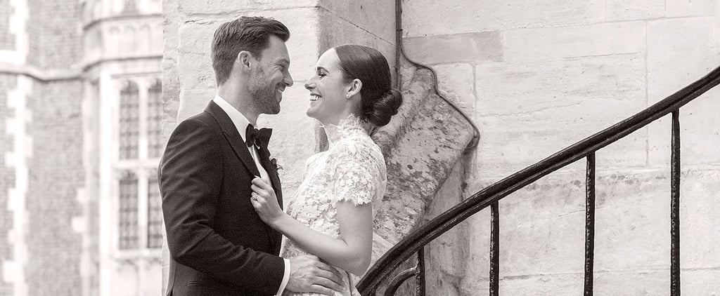 Louise Roe's Wedding Gown Might Have Been Custom, but It Was Very Classic