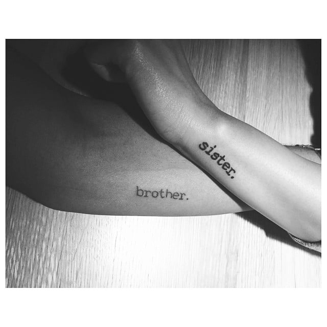Tattoo For Brother And Sister