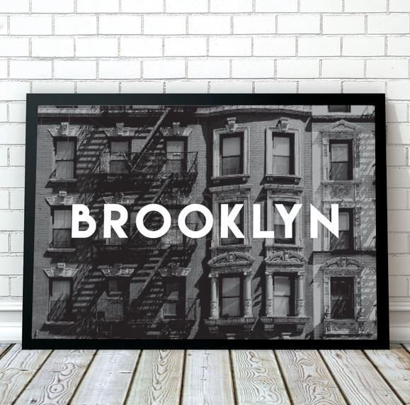 Affordable prints and wall art 2017 popsugar home australia for Affordable motors of brooklyn inventory