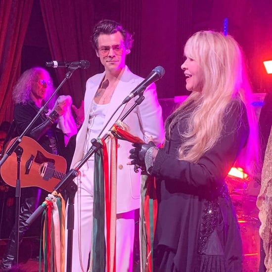 Harry Styles and Stevie Nicks Singing at Gucci Party Videos