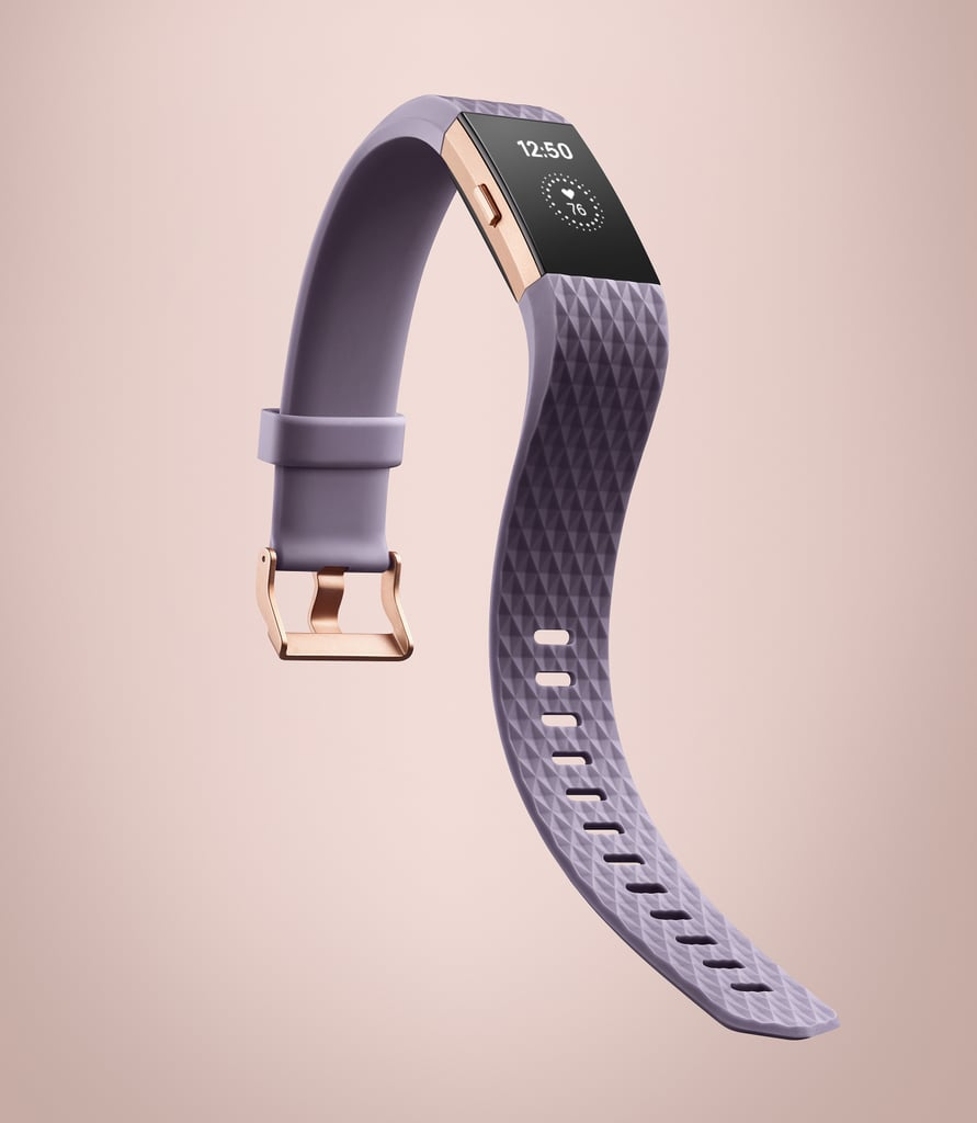 Fitbit Charge 2 in Lavender and Rose Gold