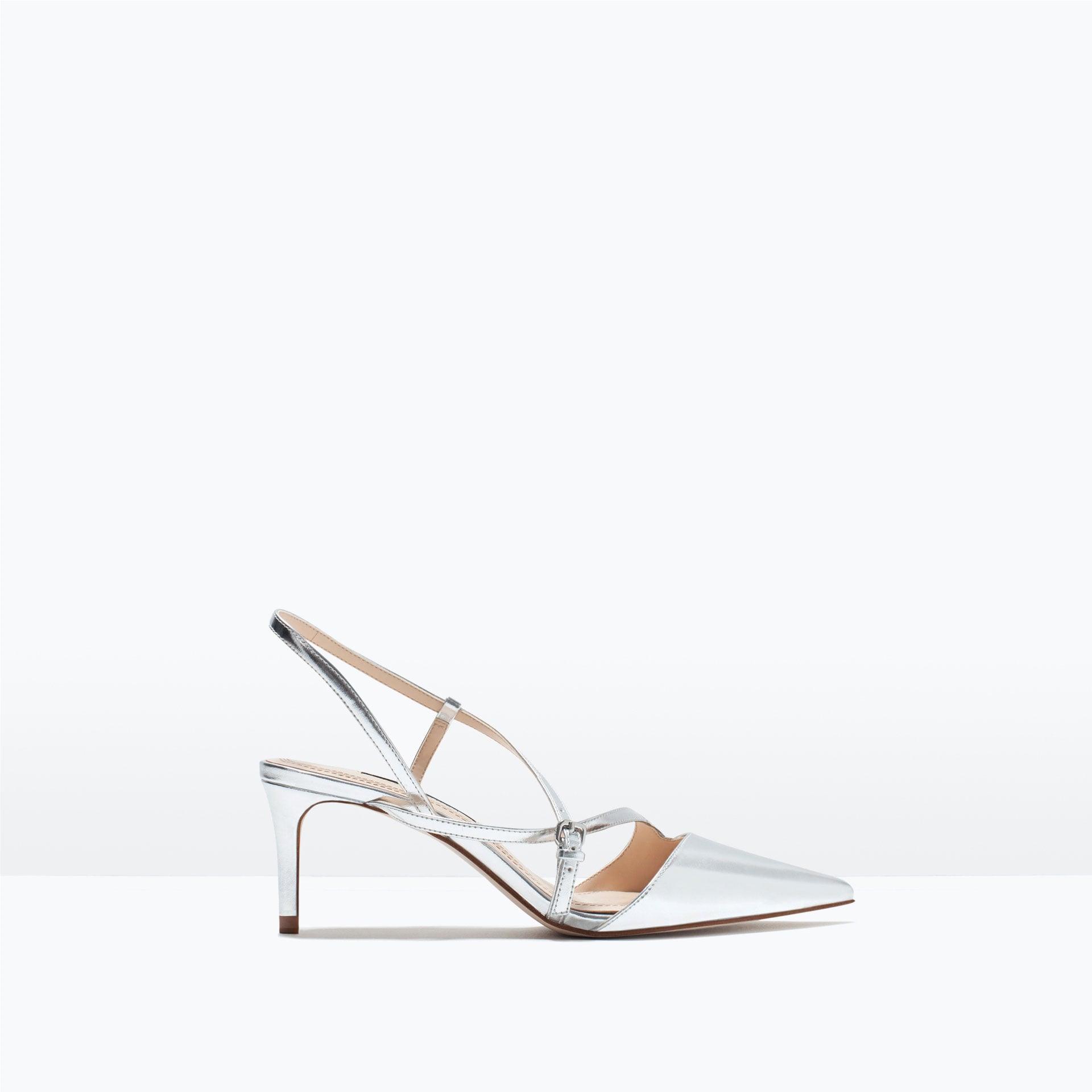 Zara Mid-Heel Strappy Shoe