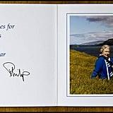 بطاقة من الملكة، 1996