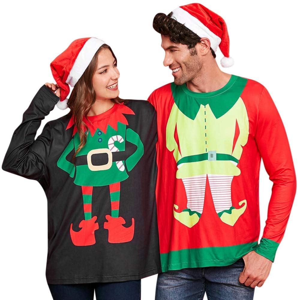1d0ff209 Two-Person Ugly Christmas Sweatshirt | Ugly Christmas Sweaters For ...