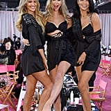 Pictured: Candice Swanepoel, Behati Prinsloo, and Adriana Lima