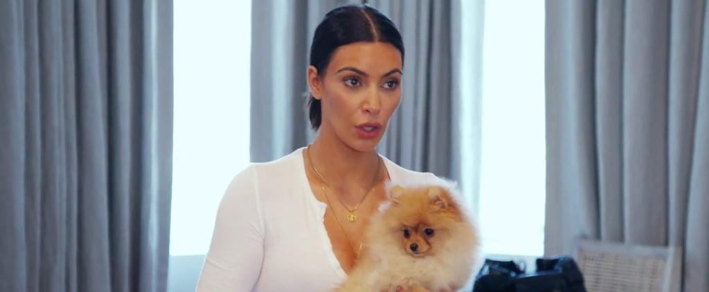 Kim and Kourtney Kardashian Fighting Over Puppies on KUWTK