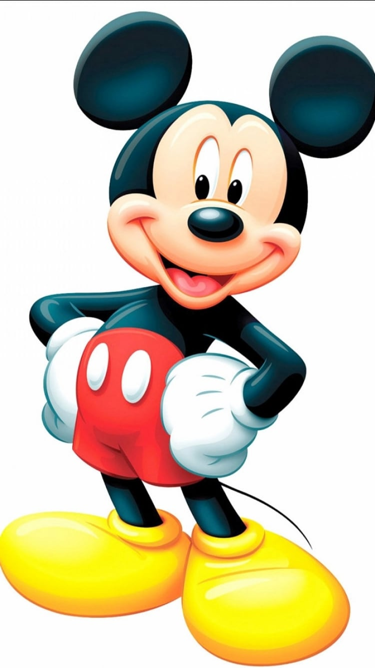 Mickey Mouse Wallpaper | 33 Magical Disney Wallpapers For Your Phone |  POPSUGAR Tech Photo 3