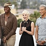 Guest judge Ashlee Simpson joined J. Alexander and Jay Manuel as they prepped the girls for their makeovers.  Photo courtesy of The CW