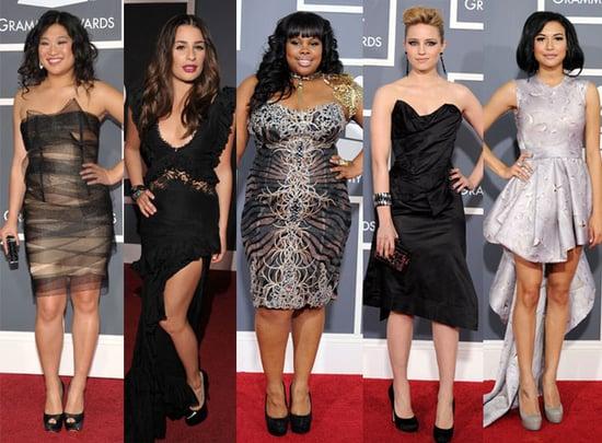 Glee Girls Grammys 2011