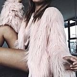 Perman Faux Fur Short Coat