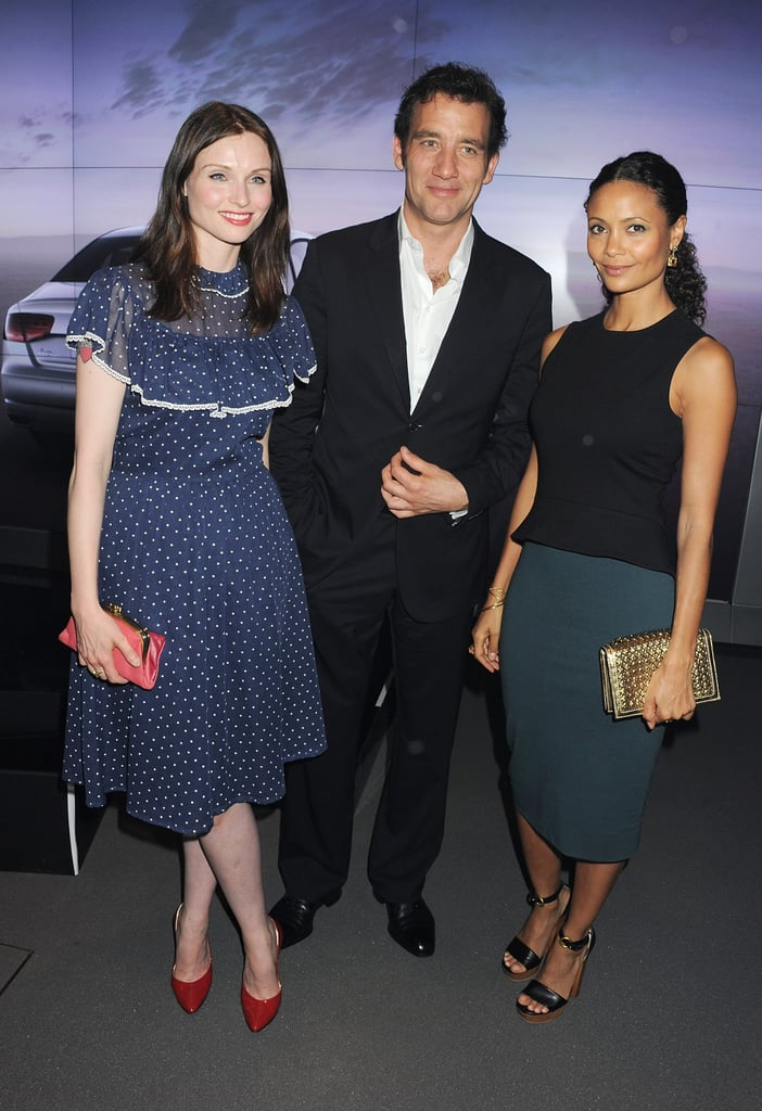 Sophie Ellis-Bextor, Clive Owen, and Thandie Newton attended a party celebrating the global launch of Audi City.
