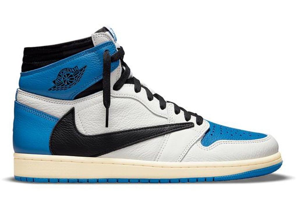 Bid on the Travis Scott Jordan 1 High OG SP Fragment Sneaker