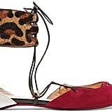Christian Louboutin Corsankle Leopard-print Calf Hair