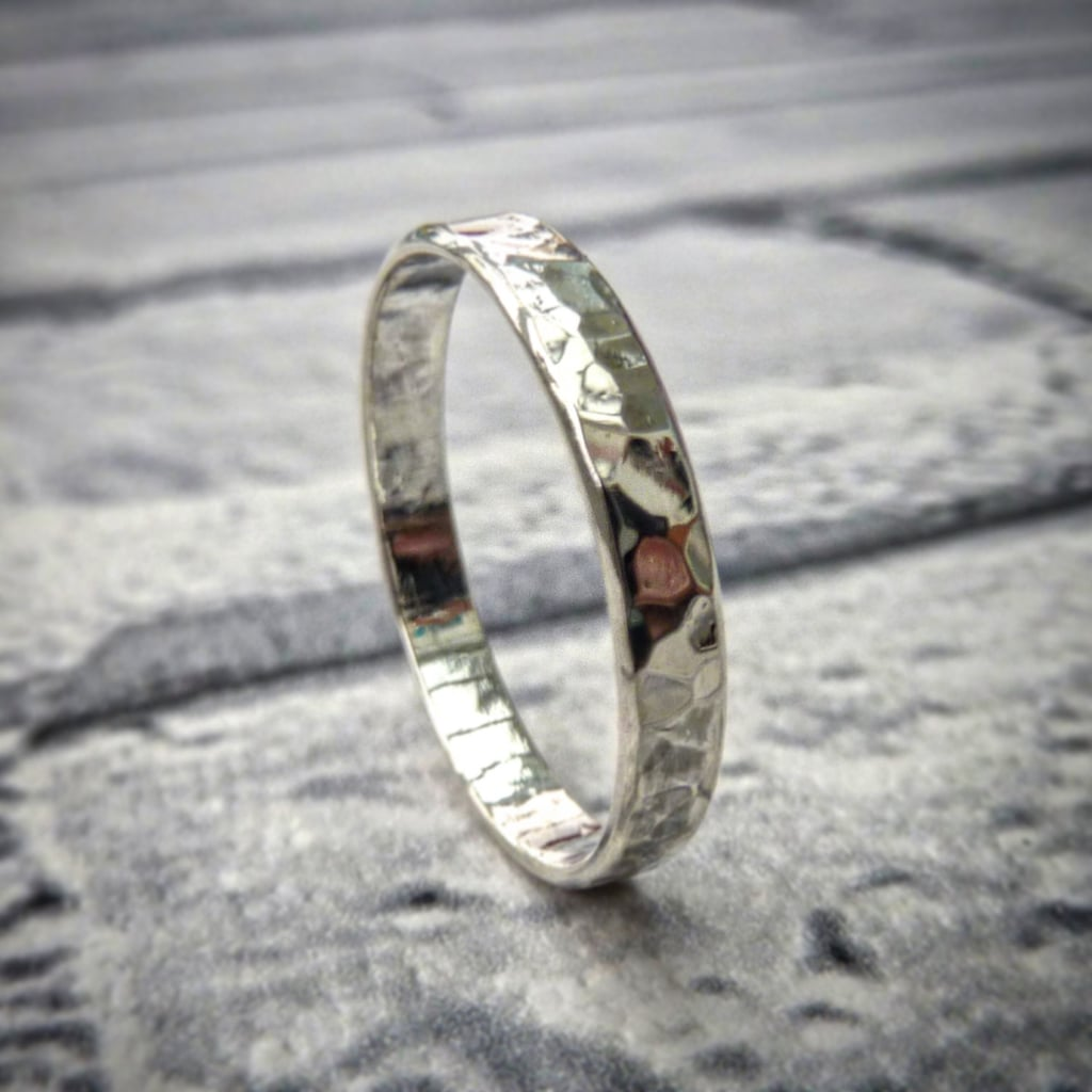 Best Wedding Bands From Etsy etsy wedding bands Sterling Silver Wedding Band 54
