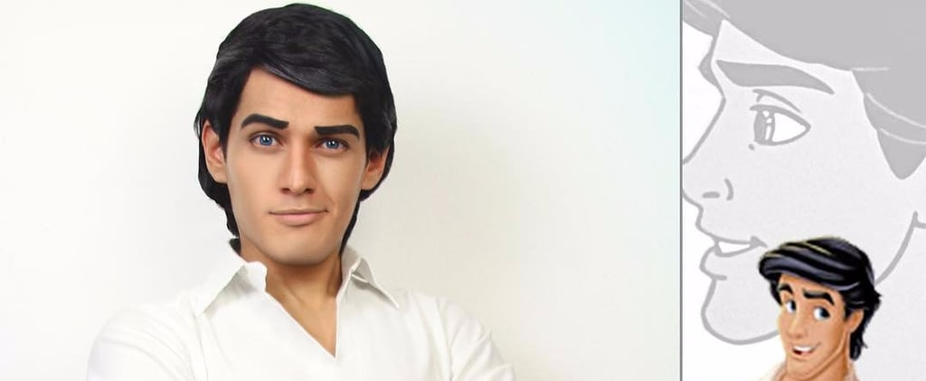 Sexy Cosplayer Dressed as Disney Princes