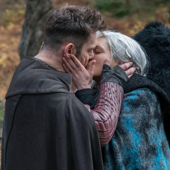Vikings Lagertha and Heahmund Kissing Photos