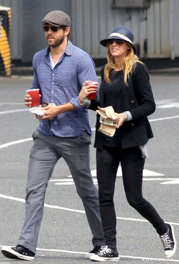 Ryan Reynolds and Blake Lively headed out on the water.