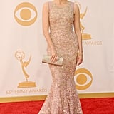 Jewel glittered in a Tony Ward Haute Couture gown and Lorraine Schwartz jewels.
