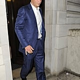 Prince Harry went to the afterparty for The Dark Night Rises in London.