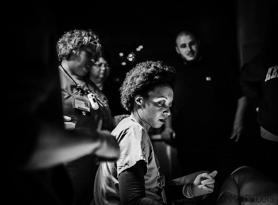 Photos of Nurses Helping Moms After Birth