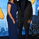 Sabrina Dhowre and Idris Elba at the Cats World Premiere in NYC