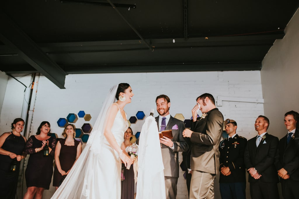Nytasha and Joe had a completely DIY wedding with a Gatsby-meets-festival theme and Star Wars accents. See the wedding here!