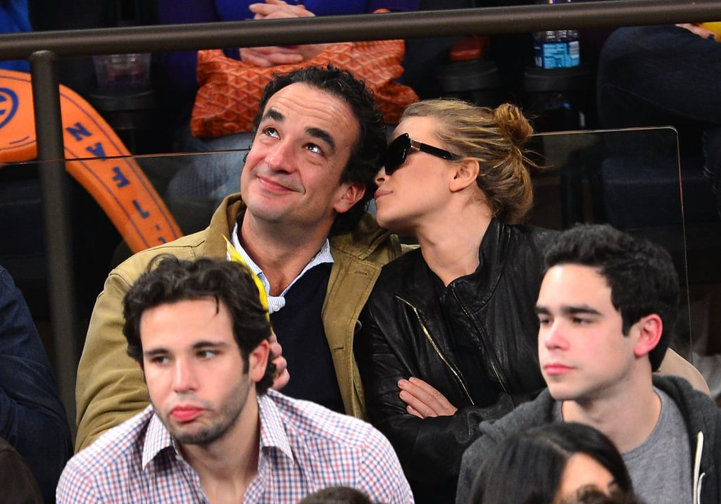 "Mary-Kate Olsen and her boyfriend, Olivier Sarkozy, had a busy weekend in NYC. They shared a lunch date on Saturday in their East Village neighborhood, then were together to catch a game in NYC on Sunday night. They sat side by side to root for the Knicks as they took on the visiting Indiana Pacers at Madison Square Garden. Mary-Kate and Olivier cheered the team on to a 88-76 win and indulged in some celebratory PDA. It was the latest instance of Mary-Kate and Olivier's courtside loving — Mary-Kate and Olivier Sarkozy showed lots of love at a Knicks vs. Mavericks matchup earlier this month. Mary-Kate's not deterred by anyone's having issue with their 16-year age gap. She told WSJ. magazine earlier this year, ""Everyone has an opinion. I find it's better to focus on what's in front of you."""