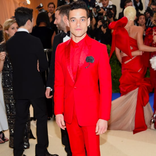 Rami Malek at the 2017 Met Gala