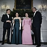 The First Couple Hold a Dinner in Honor of Princess Margaret and Lord Snowdon