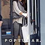 Jennifer Garner shopped in Paris.