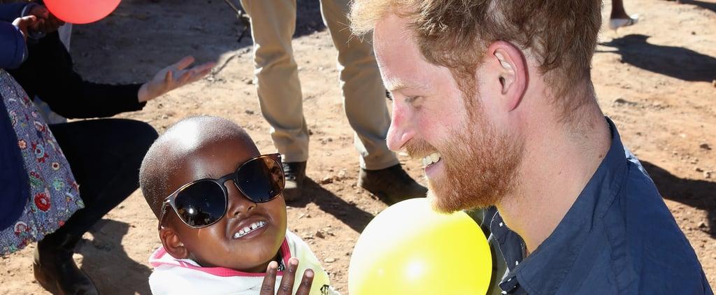 تفاصيل رحلة الأمير هاري إلى زامبيا