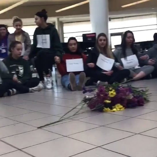Students Serve Detention For National Walkout on Gun Control