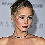 Jennifer Lawrence at Passengers LA Premiere