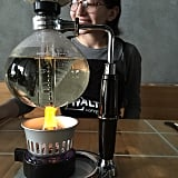 Siphon brewing for the finest coffee