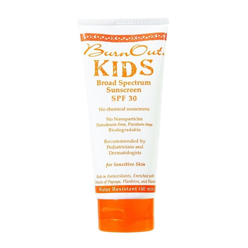 BurnOut Kids Sunscreen, SPF 35