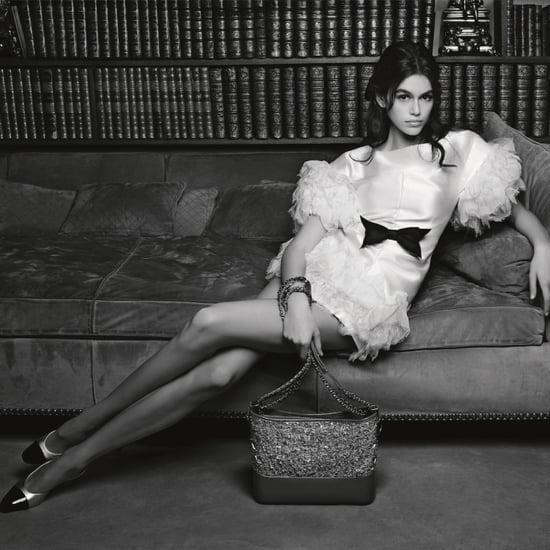 Kaia Gerber Chanel Campaign Spring 2018
